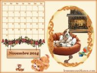 Calendrier novembre 2014